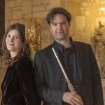 Les Siècles, Gionata Sgambaro flûte, Valeria Kafelnikov harpe